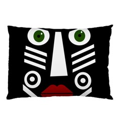 African mask Pillow Case (Two Sides)