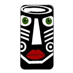 African mask Apple iPhone 4/4s Seamless Case (Black)