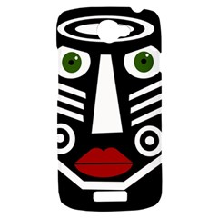 African mask HTC One S Hardshell Case