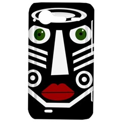 African mask HTC Incredible S Hardshell Case