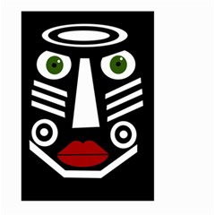 African mask Large Garden Flag (Two Sides)