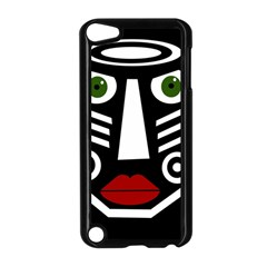 African mask Apple iPod Touch 5 Case (Black)