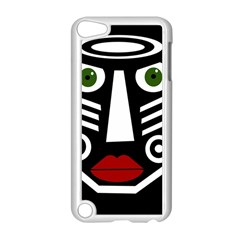 African mask Apple iPod Touch 5 Case (White)