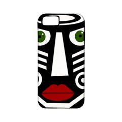 African mask Apple iPhone 5 Classic Hardshell Case (PC+Silicone)
