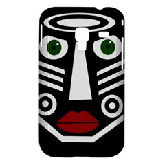 African mask Samsung Galaxy Ace Plus S7500 Hardshell Case