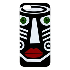 African mask Apple iPhone 5 Premium Hardshell Case