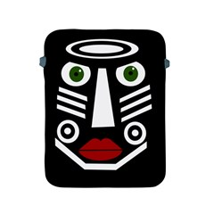 African mask Apple iPad 2/3/4 Protective Soft Cases