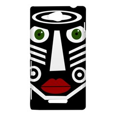 African mask Sony Xperia C (S39H)