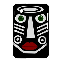African mask Samsung Galaxy Tab 2 (7 ) P3100 Hardshell Case