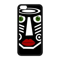 African mask Apple iPhone 5C Seamless Case (Black)