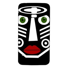 African mask Samsung Galaxy S5 Back Case (White)