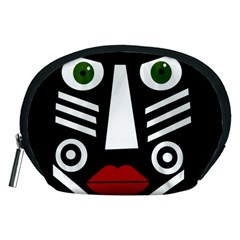 African mask Accessory Pouches (Medium)