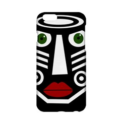 African mask Apple iPhone 6/6S Hardshell Case