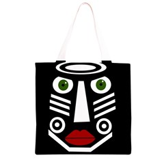 African mask Grocery Light Tote Bag