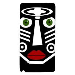 African mask Galaxy Note 4 Back Case