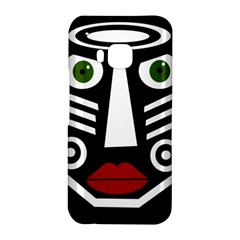 African mask HTC One M9 Hardshell Case