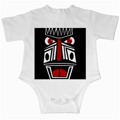 African red mask Infant Creepers