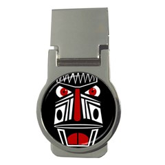 African red mask Money Clips (Round)