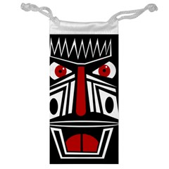 African red mask Jewelry Bags