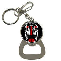African red mask Bottle Opener Key Chains