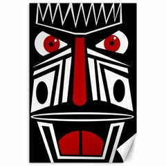 African red mask Canvas 24  x 36