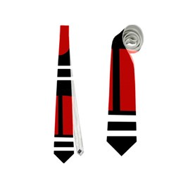 African red mask Neckties (Two Side)