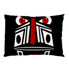 African red mask Pillow Case