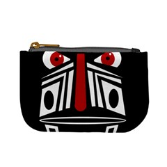 African red mask Mini Coin Purses