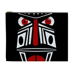 African red mask Cosmetic Bag (XL)