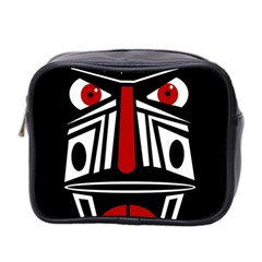 African red mask Mini Toiletries Bag 2-Side