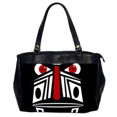 African red mask Office Handbags (2 Sides)