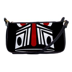African red mask Shoulder Clutch Bags