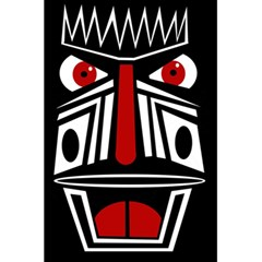 African red mask 5.5  x 8.5  Notebooks