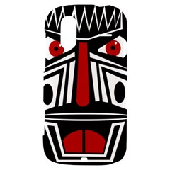 African red mask HTC Amaze 4G Hardshell Case