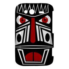 African red mask HTC Wildfire S A510e Hardshell Case