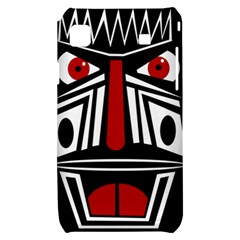 African red mask Samsung Galaxy S i9000 Hardshell Case