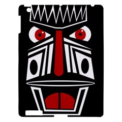 African red mask Apple iPad 3/4 Hardshell Case