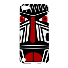 African red mask Apple iPod Touch 5 Hardshell Case