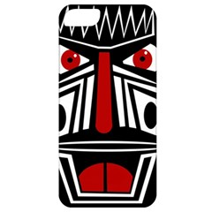 African red mask Apple iPhone 5 Classic Hardshell Case