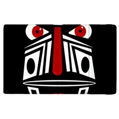 African red mask Apple iPad 2 Flip Case