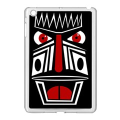 African red mask Apple iPad Mini Case (White)
