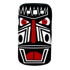 African red mask Samsung Galaxy S III Classic Hardshell Case (PC+Silicone)