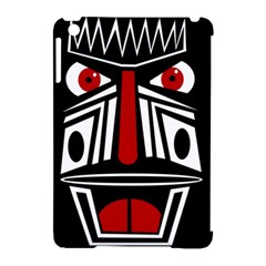 African red mask Apple iPad Mini Hardshell Case (Compatible with Smart Cover)