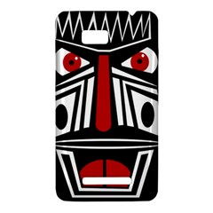 African red mask HTC One SU T528W Hardshell Case
