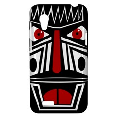 African red mask HTC Desire VT (T328T) Hardshell Case