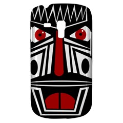African red mask Samsung Galaxy S3 MINI I8190 Hardshell Case
