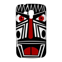 African red mask Samsung Galaxy Duos I8262 Hardshell Case