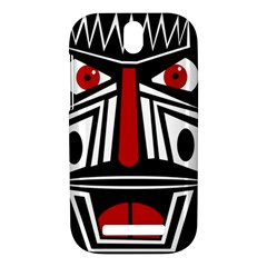 African red mask HTC One SV Hardshell Case