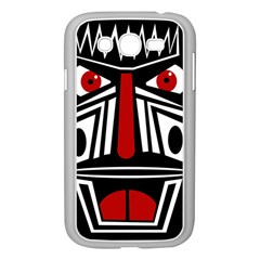 African red mask Samsung Galaxy Grand DUOS I9082 Case (White)