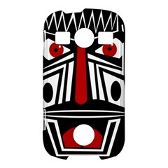 African red mask Samsung Galaxy S7710 Xcover 2 Hardshell Case
